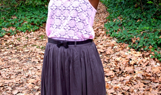 top:marshalls//skirt:ruche