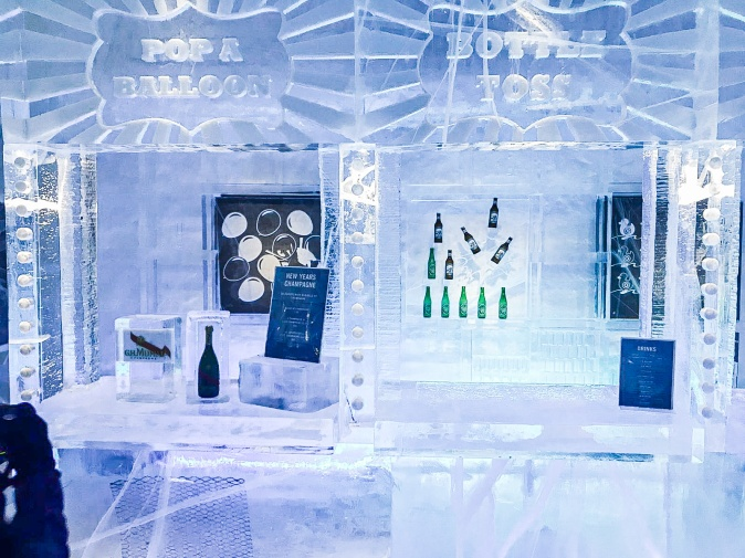 Swedish lapland ice hotel